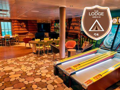 The Lodge - Camp Discovery - Princess Cruises