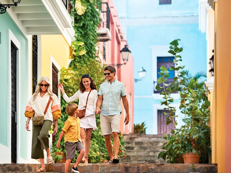 Familia San Juan de Puerto Rico, Caribe - Princess Cruises