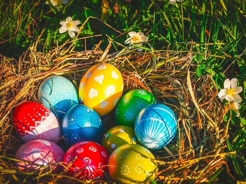 La historia sobre la tradicional pintura de los huevos de Pascua