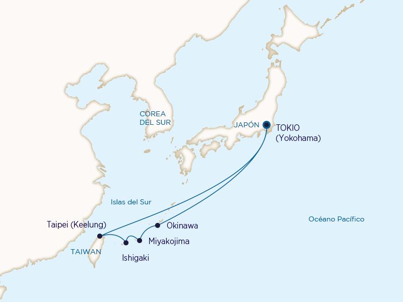 Princess: Islas del Sur de Japón desde Tokio