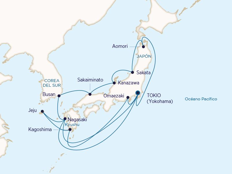 Princess: Mar de Japón y Kyushu