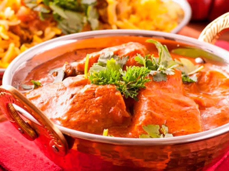 Curry de Pollo de la india
