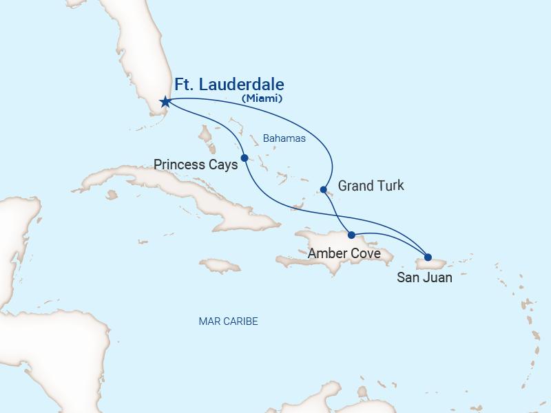 Princess - Crucero Este con San Juan