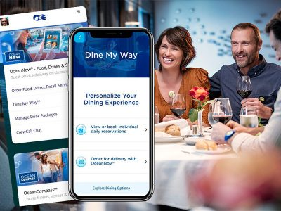 Princess Cruises presenta Dine My Way
