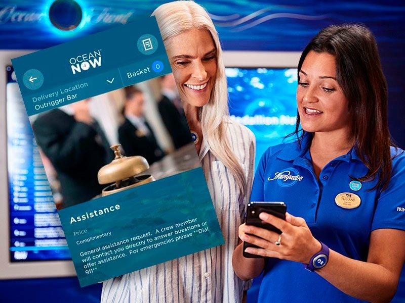 Creww Call en Ocean Now Princess