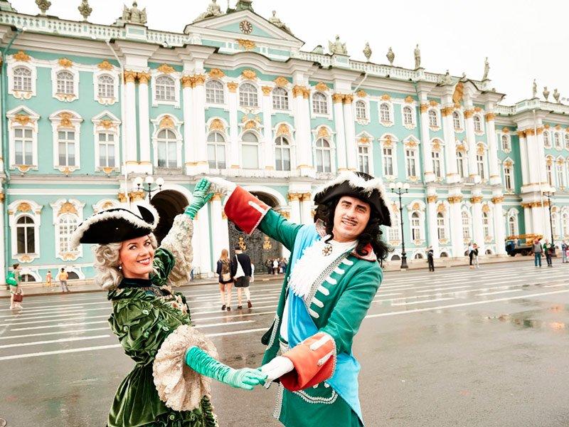 El Palacio de Invieron de San Petersburgo- Museo Hermitage